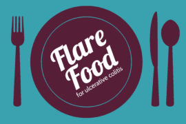 Flare food for ulcerative colitis.
