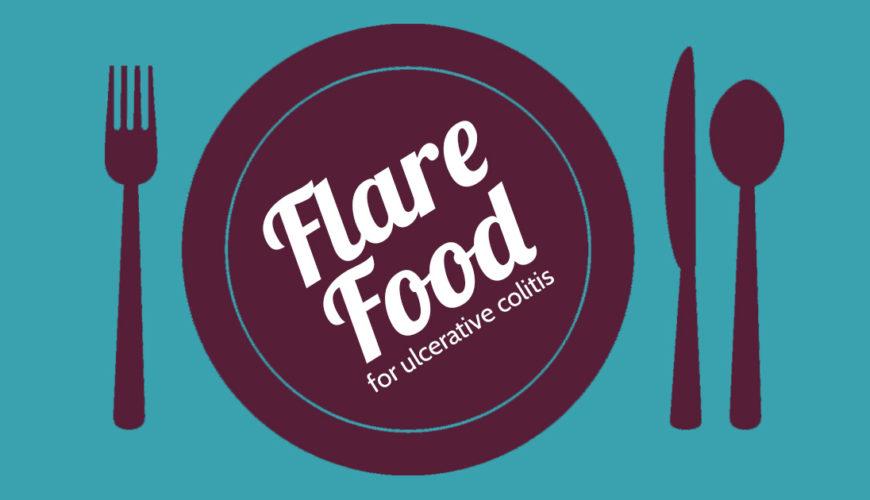 Flare food for ulcerative colitis.